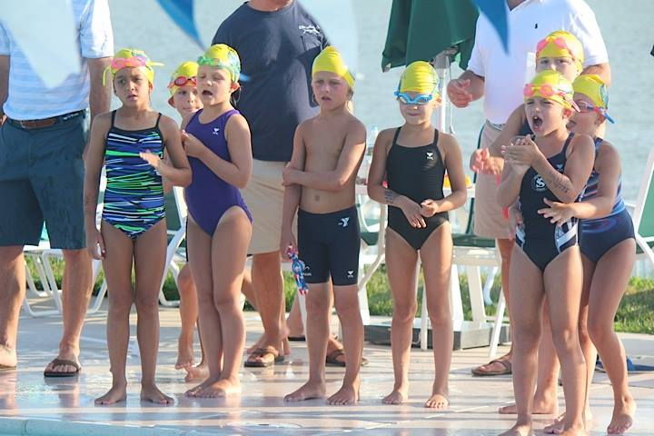 swim meet fun
