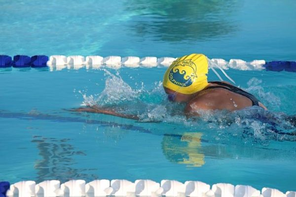 swim team breast stroke