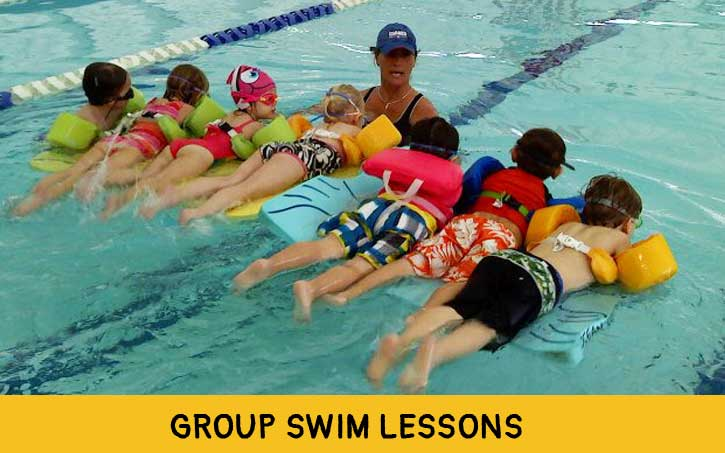 Group Swim Lessons in Create a Class