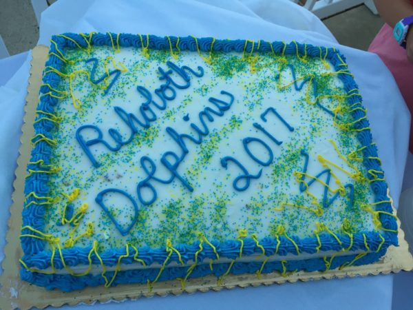 Rehoboth dolphins cake
