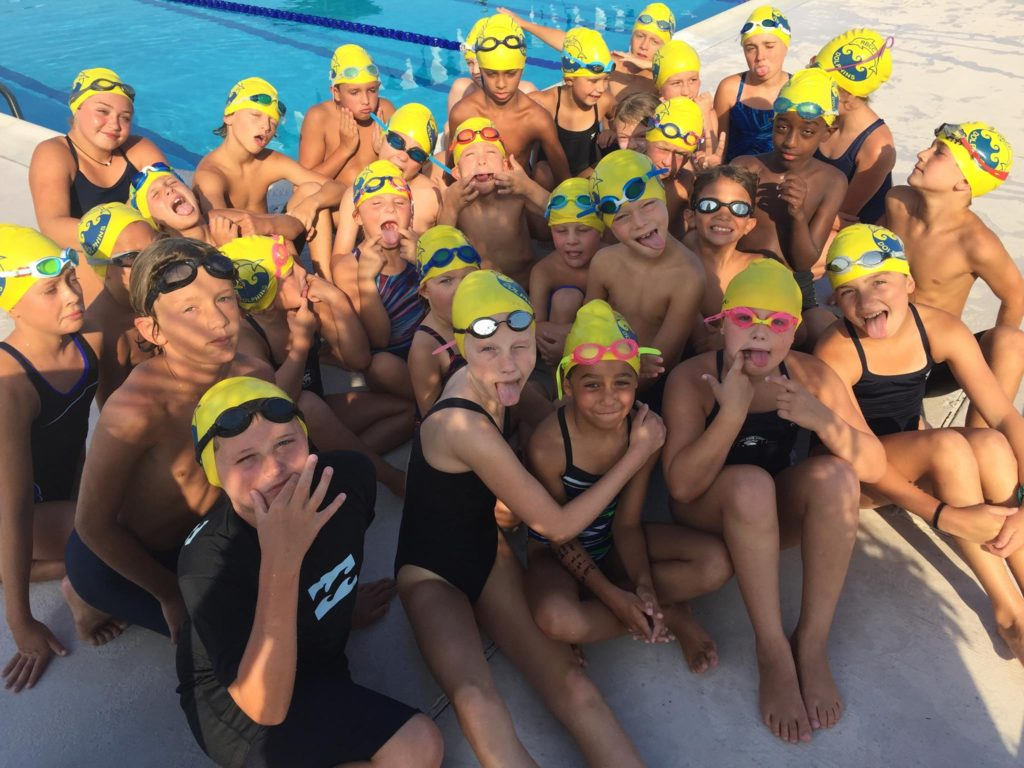 swim team fun