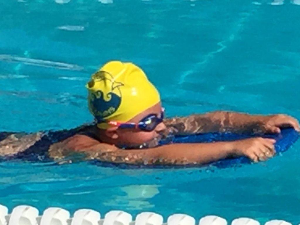 swim meet race