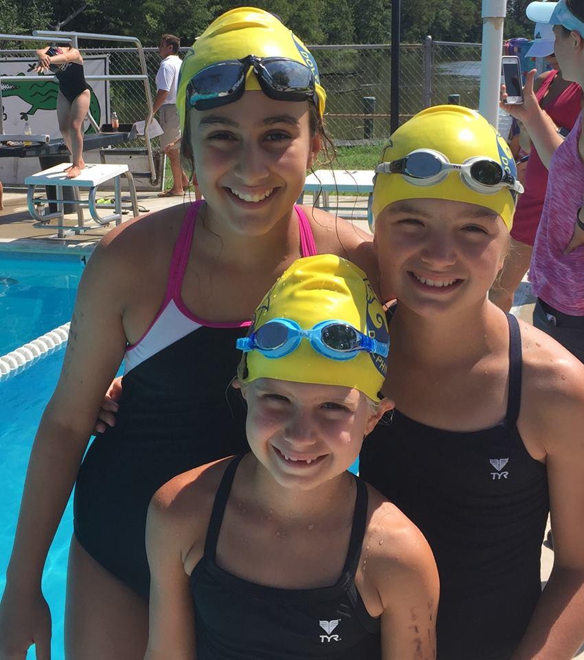 swim meet girls