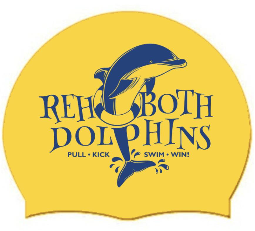 Rehoboth dolphins swim team cap